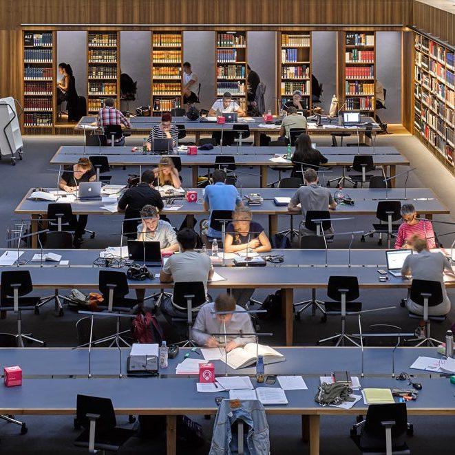 Unibibliothek zugeschnitten