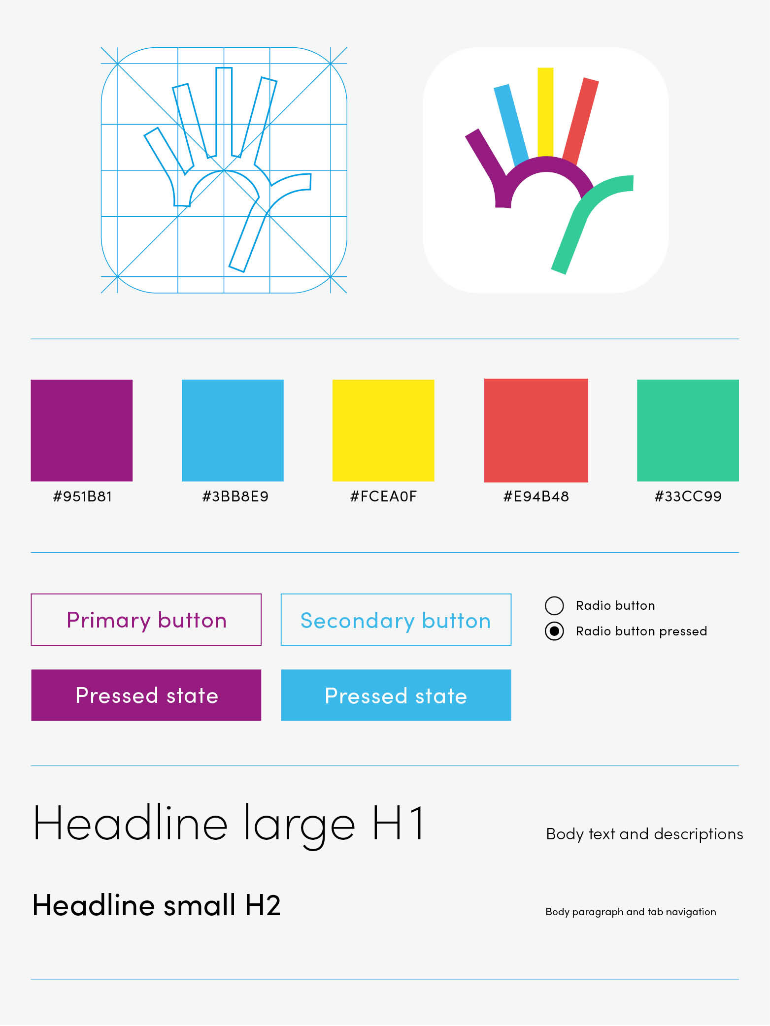 branding, styletile, logodesign, fiveup app