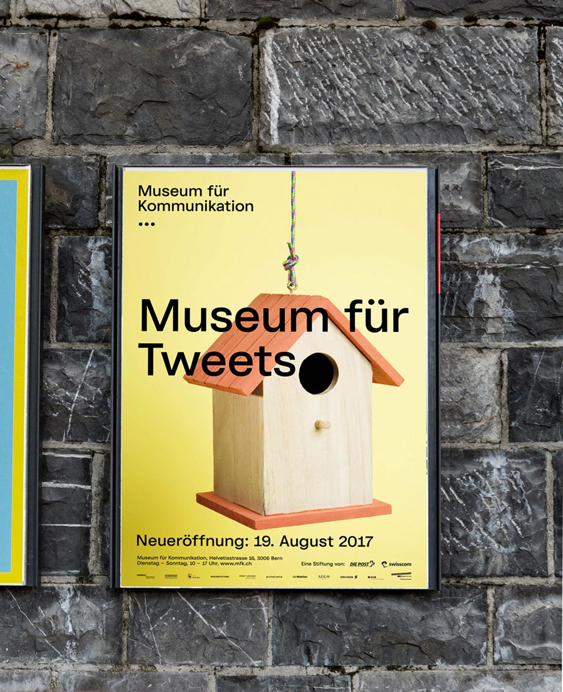 Artdirection Grafikdesign Kampagne Museum für Kommunikation Bern