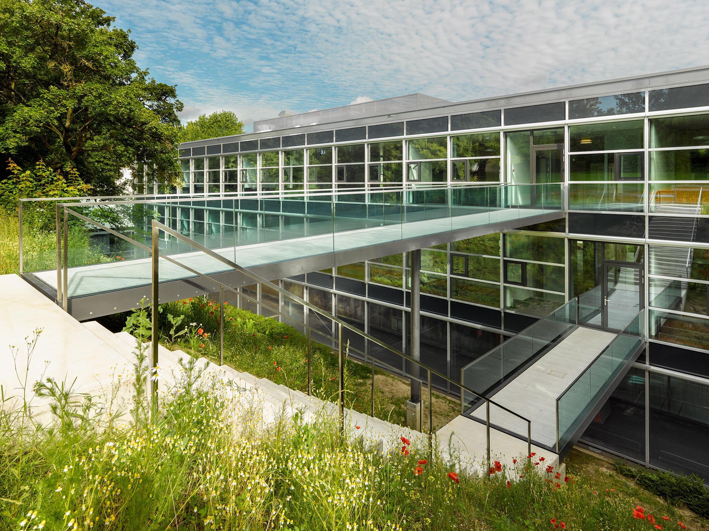 Architektur Signaletik Schule Battenberg Sprachheilschule