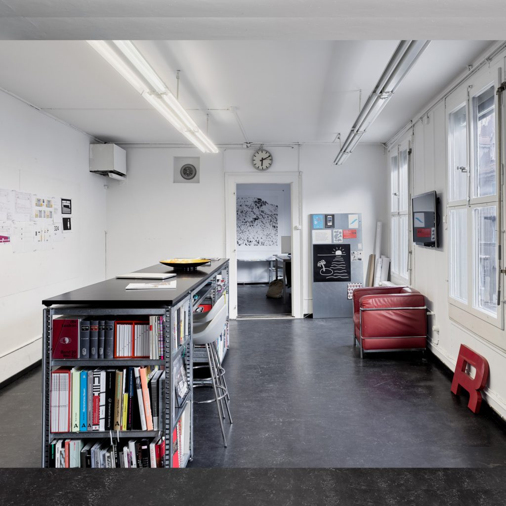 Atelier Nulleins Kommunikationsdesign Bern, Marzili