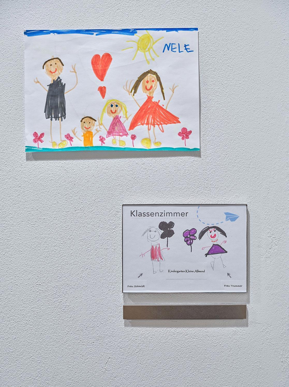 Türschilder Auflaufschutz Burgfeld Bern Signaletik