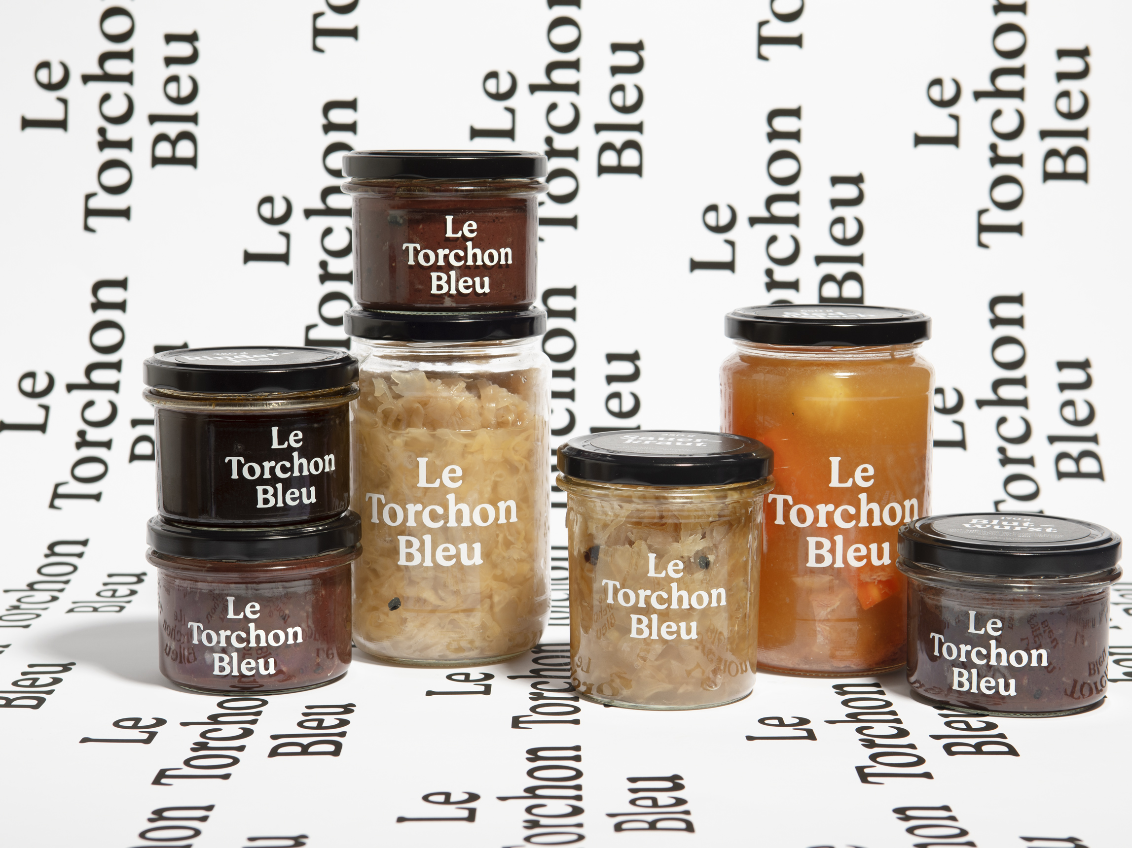 Products Branding Packagging Le Torchon Bleu, Nulleins Bern